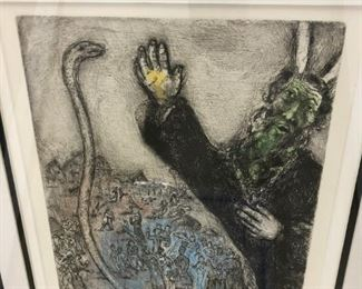 Marc Chagall etching - $5,750