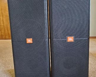 "JBL SRX 722F Speakers...$1600 pair...38"" tall...12"" Woofers"