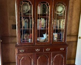 Vintage china cabinet ==> $300