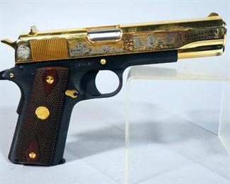 """America Remembers """"Tet Offensive 50th Anniversary Tribute Pistol"""" Colt Government Model 1911 .45 ACP Pistol SN# 2934107, #36 Of 1000, Working Firearm With COA"""