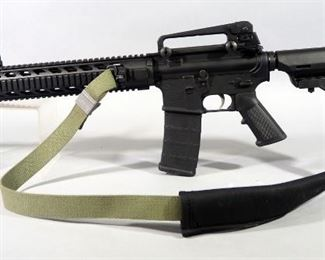Anderson MFG AM-15 5.56 NATO Rifle SN# 14146197, Vented Muzzle, With Padded Canvas Sling