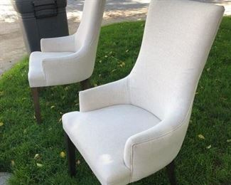 Pottery Barn - 2 Chairs perfect, 2 chairs with issues $200