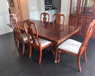 B001 - Glory Oceanic Dining Set - 9pc  w/Leaf Extension - $300