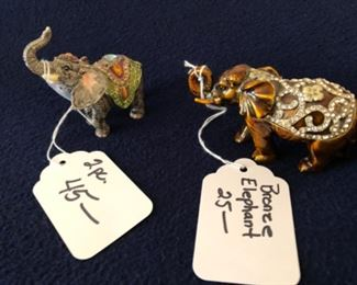 """small elephants with """"jewels"""""""