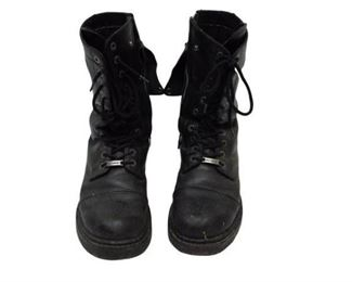 10. Harley Davidson Leather Boots