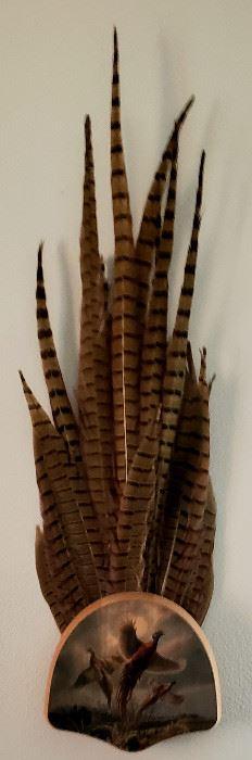 Pheasant wall decor