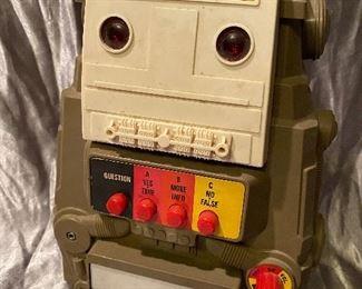 VINTAGE TOY ROBOT- PLASTIC - $40