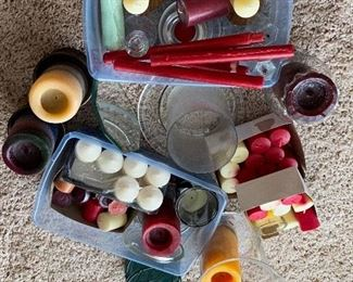 CANDLE LOT- EVERYTHING YOU SEE $12