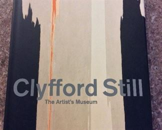 Clyfford Still: The Artist's Museum, Dean Sobel and David Anfam, Skira Rizzoli Publications, 2012. ISBN 9780847838073. With Owner Bookplate. In Protective Mylar Cover. $95.
