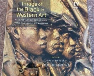 The Image of the Black in Western Art From The American Revolution to World War I,Vol. IV Part 1, New Edition, Belknap Press of the Harvard University Press, 2012. ISBN 9780674052598. With Owner Bookplate. In Protective Mylar Cover. $75.