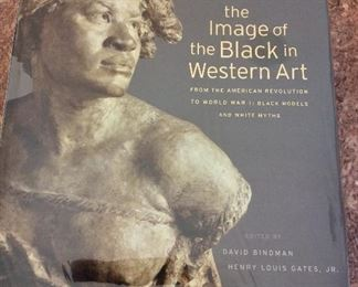 The Image of the Black in Western Art From The American Revolution to World War I,Vol. IV Part 2 Black Models and White Myths, New Edition, Belknap Press of the Harvard University Press, 2012. ISBN 9780674052604. With Owner Bookplate. In Protective Mylar Cover. $75.