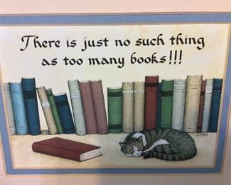 There is just no such thing as too many books!!!