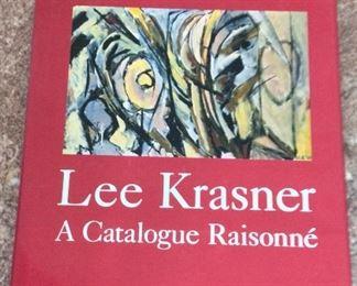 Lee Krasner: A Catalogue Raisonne, Ellen G. Landau, Abrams, 1995. ISBN 0810935139. With Owner Bookplate. In Protective Mylar Cover. $525.