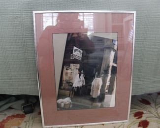 "#30Brocante print in frame                20.5""h x 16.20""w$20.00"
