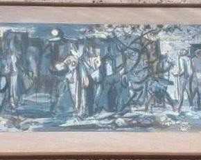 Phil Dike watercolor