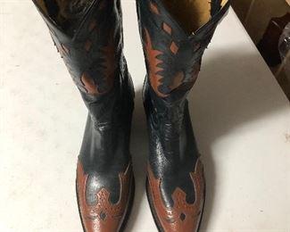 Tony Lama Genuine Leather Soled Boots  $150.00  Size 9 Men's  #IWW2