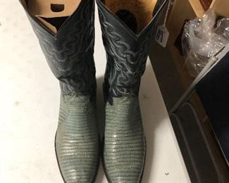 Justin 1879 Boots  $200.00  Size 9 Men's  #IWW6