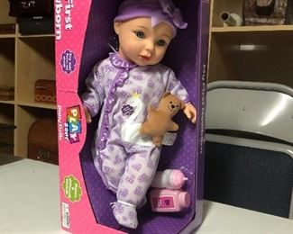"Play Zone ""My First Newborn"" Baby Doll  $20.00  #IWW10"