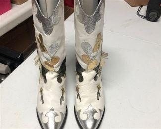 Zalo Leather Boots   $150.00  Size 7 Women's   #IWW4