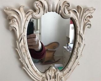 """12"""" Antique Mirror- $35 REDUCED TO $25"""