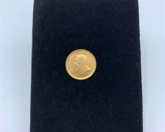 South African Gold Coin