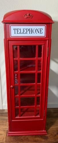 Telephone Box Cabinet Reproduction