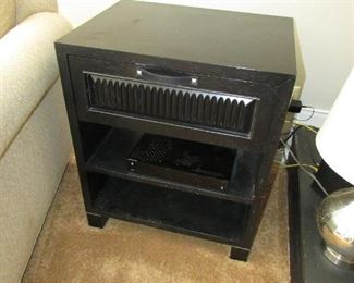 """Accent chest from """"Pier 1.""""  23.5"""" w X 28""""h X 18""""d PRICE: $85.00"""