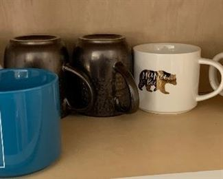 10pc Assorted Coffee Mugs