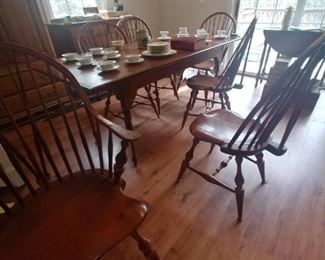 D R Dimes dining room set $1500.00