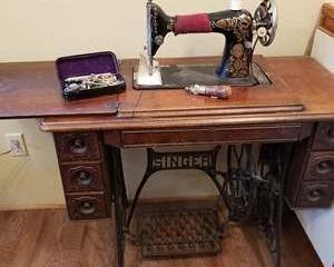 Singer  Antique Treadle