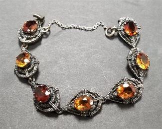 $325.00 Guglielmo Cini 925 Silver Bracelet