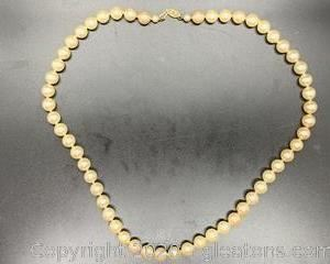 24 inch Pearl Necklace