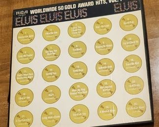 Elvis 4 LP set $20.00