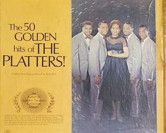 The Platters 4 LP set $20.00