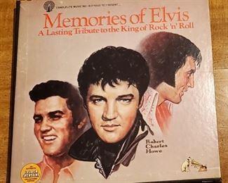 Memories of Elvis 5 Record set $20.00