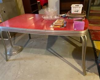 50's Chrome Table