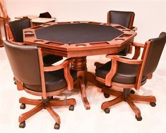 30. Executive Games Table Chairs