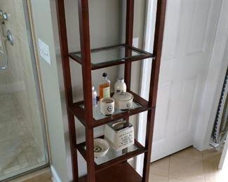 $90 ... Perfect bathroom curio !