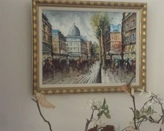 Painting - now $175  -from Paris, France