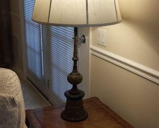 Antique Lamp $225 (stiffel)