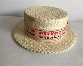 Old Chicago Amusement Park Hat made of styrofoam.