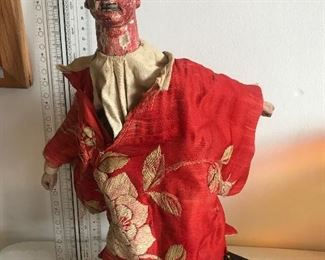 Antique Japanese hand  Puppet $60
