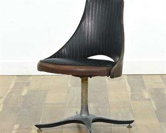 Mid Century Modern Swivel Dining Chair