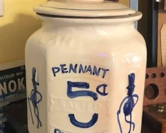 Peanut jar canister $10