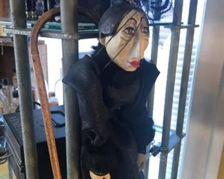 Vintage marionette Victorian style neat $5