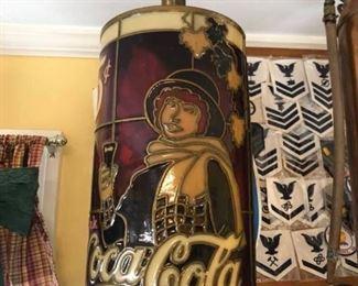 Vintage Coca Cola Lamp Base $20