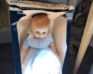 Gerber Baby Doll With Box - $10