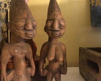 kenya african wood carved $5