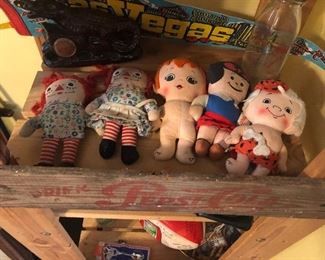 plush dolls $1 each