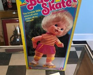 Baby Skates Doll In Box $5 on sale